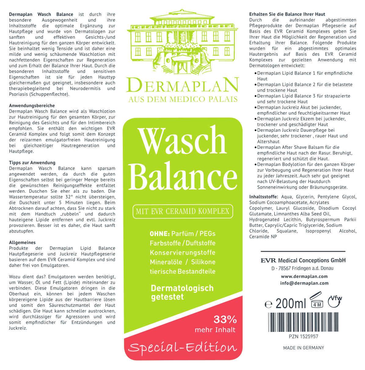 Etikett - Dermaplan Hautpflege