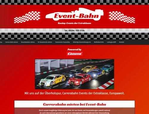 Carrera Rennbahn Versand / Vermietung – HTML5 Webseite / Modified Shop