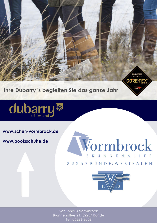 Flyer: Schuhhaus Vormbrock - Dubarry