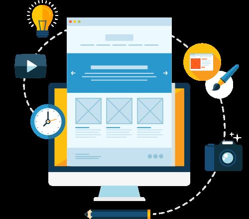 Grafik: Webdesign / Homepage-Programmierung