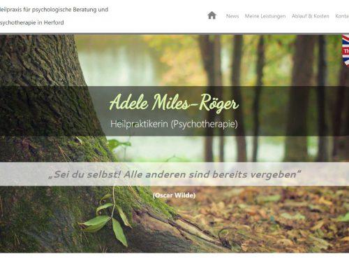 Heilpraxis Adele Miles-Röger – HTML5 Webseite / Youtube-Clips