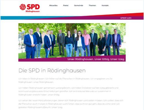 SPD Rödinghausen – WordPress Webseite