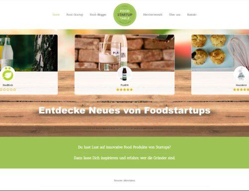 Foodstartuptable – StartinFood Community – WordPress Portal